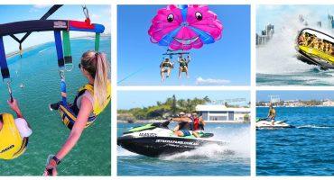 jet ski, parasailing, jet boating activities gold coast
