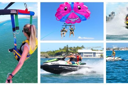 jet ski, parasailing, jet boating activities gold coast