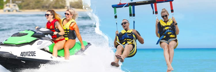 Jet ski hire and Parasailing package